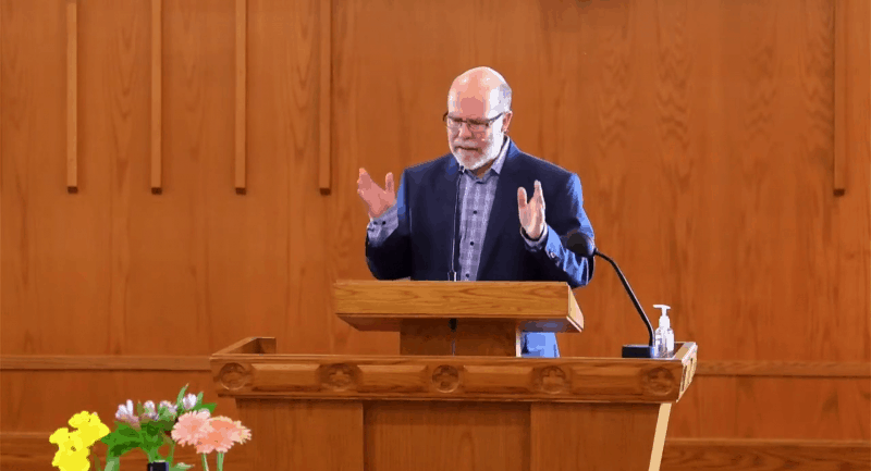 This Is Only a Test - Live Sermon - Rev. Alex Moir - 11 April 2021